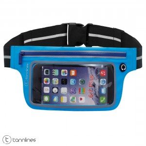 Tannlines Kaleido Running Waist Belt | Transparent Mobile Window | For Running, Jogging, Cycling, Gym