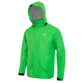 Wildcraft HypaDry Men's Rain Pro Jacket - Classic Green