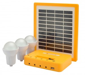 Agni Solar Home Lighting Kit 3 Solar Light Set