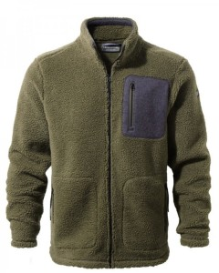 Craghoppers Edvin Fleece Jacket-Dark Moss