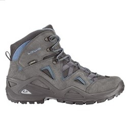Lowa Men's Zephyr GTX Mid , Anthracite/Blue