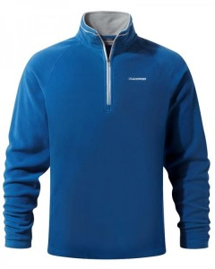 Craghoppers Selby Half Zip Winter Fleece Jacket-Sport Blue