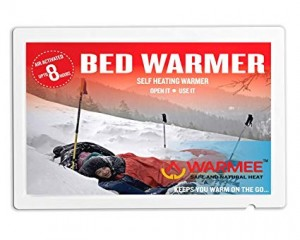 WARMEE Bed Warmers - AIR Activated - Reusable upto 1 week