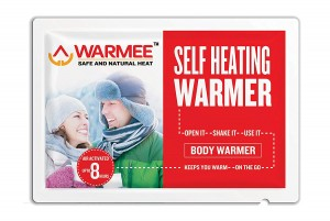 WARMEE BODY WARMERS - HEAT POUCH - Pack of 5