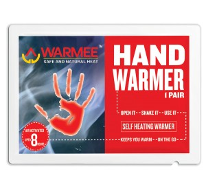 WARMEE HAND WARMERS - HEAT POUCH - Pack of 3