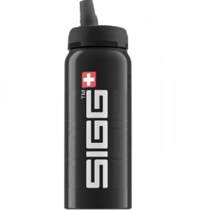 Sigg Nat Siggnificant Black 0.6 L Swiss Made Bottle