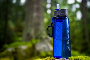 Lifestraw Go Water Purifier Bottle, 650ml (Blue)