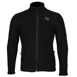 CLIFF CLIMBER FLEECE SKI JACKET ORBIT BLACK