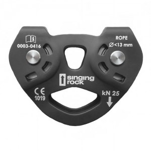 SINGING ROCK PULLEY TANDEM BLACK