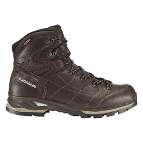 Lowa Men's Houston GTX Mid Dark/ Brown