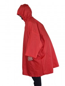 Gipfel Dunn Rain Jacket - Red