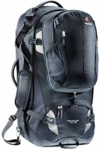 Deuter Travel Bag Traveller 70 + 10 Ltr black-silver