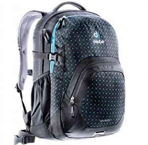 Deuter  Travel Backpack Graduate - Black-Turquoise Structure