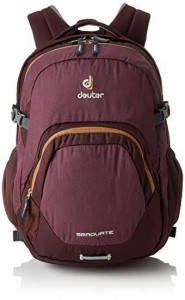Deuter  Travel Backpack Graduate - Aubergine-Lion