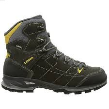 Lowa Brand Shoes Vantage GTX MID (Anthracite/Yellow)