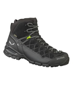 Salewa Men's ALP Trainer Mid GTX® Waterproof Hiking Boots(Black)