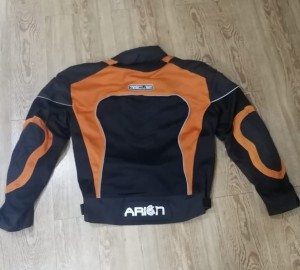 Zeus Riding jacket mesh orion orange