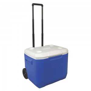 Cooler 60 QT BLUE Wheeled