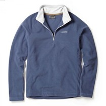 Craghoppers Selby Half Zip Blue