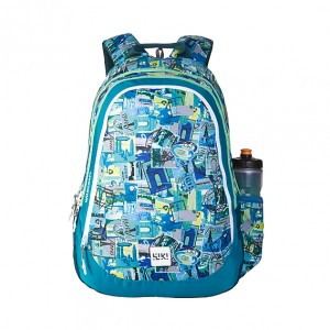Wildcraft Wiki 6 Stamp School Bag Backpack