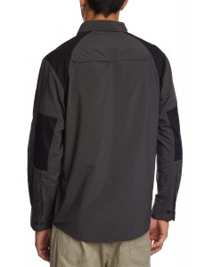 Craghoppers Men's Bear Trek Long Sleeved Shirt Black pepper