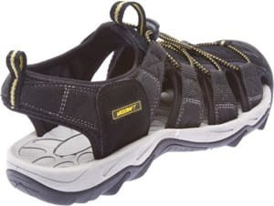 Wildcraft Terrafin Pace Sandal - Black