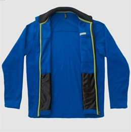 Fleece Men's Jacket - Blue