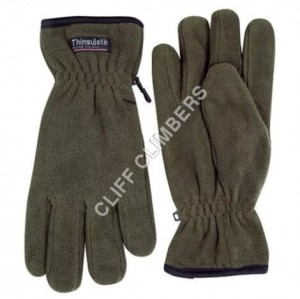 Cliff Climbers Hand Gloves Fleece OG with thinsulated insulation