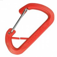 Kong Nylon D Red Keychain Carabiner