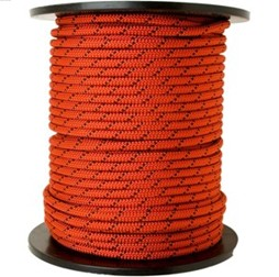 Indian Static Rope 10 mm Orange