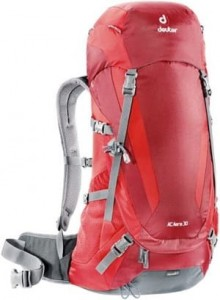 Deuter Ac Aera 30 Ltr Backpack-Red