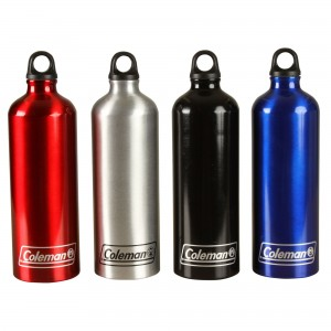 Coleman Bottle Aluminum 32 OZ Aluminum  Red