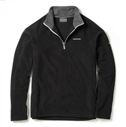 Craghoppers Selby half zip  Jacket - Black