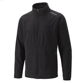 Fleece Men's Jacket - Black