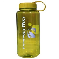 Cliff Climbers Tritan Green Wide Mouth Bottle - 1L